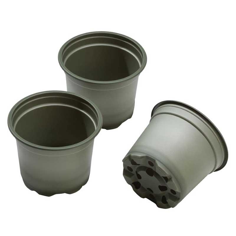 生分解性 苗鉢 Bio based Growing pot 130mm, 5-pack