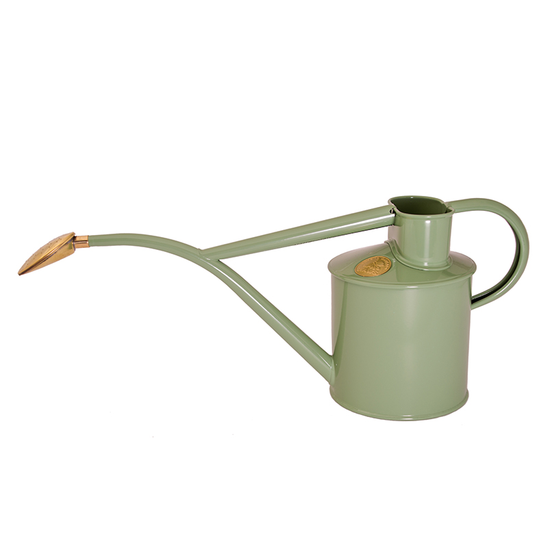 HAWS ジョウロ・霧吹きセット Haws Classic Watering Set, サルビアグリーン & ブラス