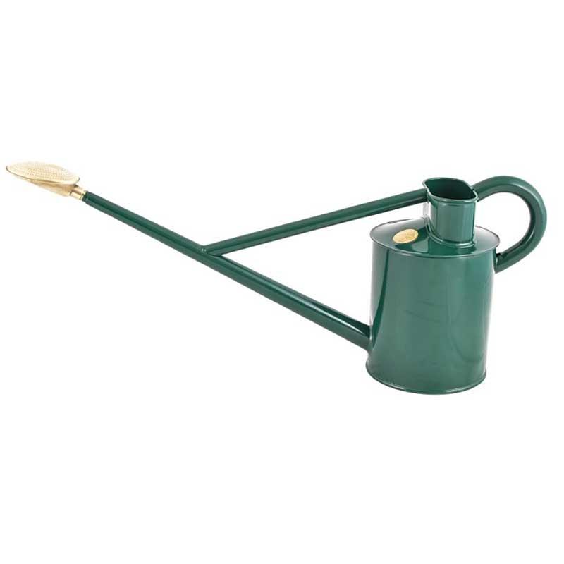 HAWS 大型スチールジョウロ Original Watering Can, グリーン, 4.5L