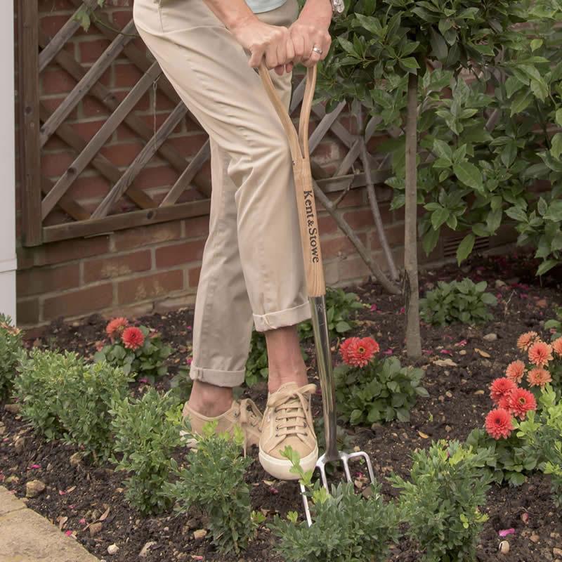 K&S 長尺フォーク Digging Fork, Garden Life
