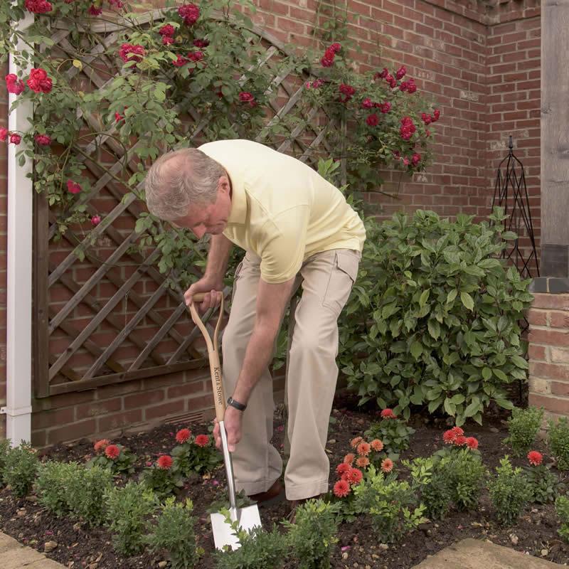 K&S 長尺シャベル Digging Spade, Garden Life
