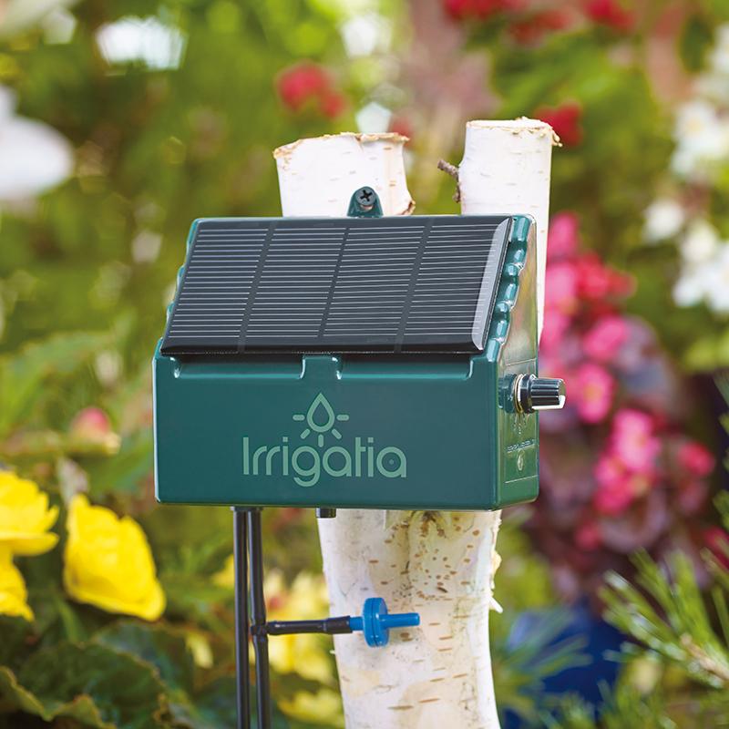 自動散水器 ソーラー式 Irrigatia, ソーラー式水やり
