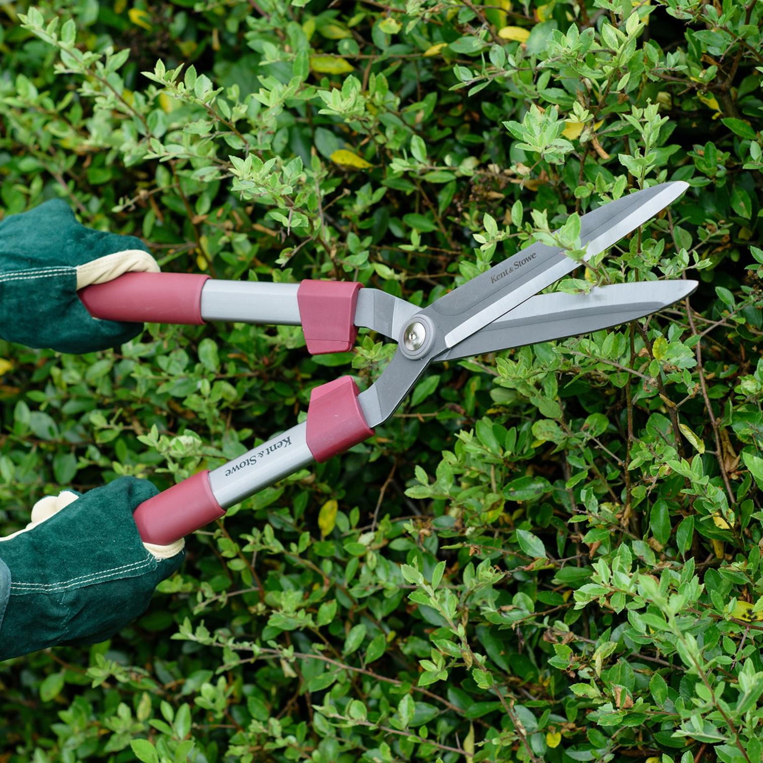 【在庫限り】K&S 大型剪定ばさみ Fixed Handle Hedge Shears