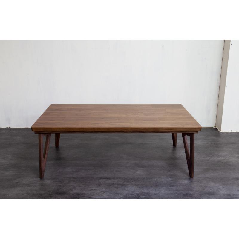 モジョデルタ こたつテーブル ウォールナット