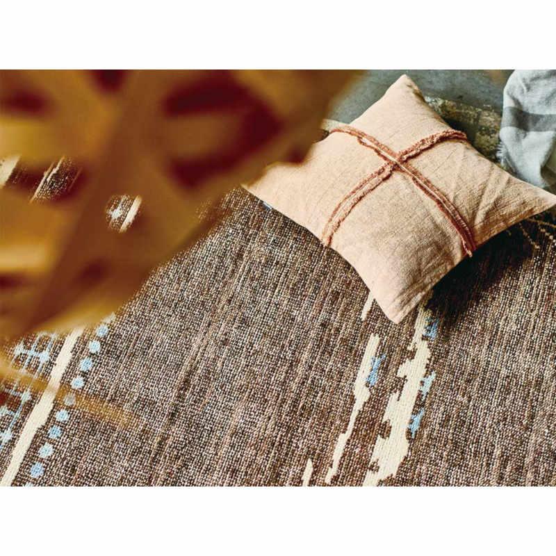 MR-1716 手織り緞通 ラグ