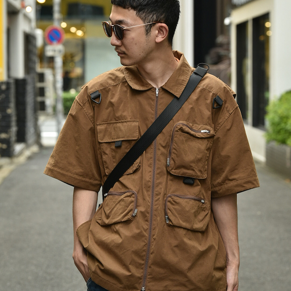 BAL バル BAL/OUTDOOR PRODUCTS ROLL TOP SHOULDER BAG -WHATZIS EXCLUSIVE COLOR-