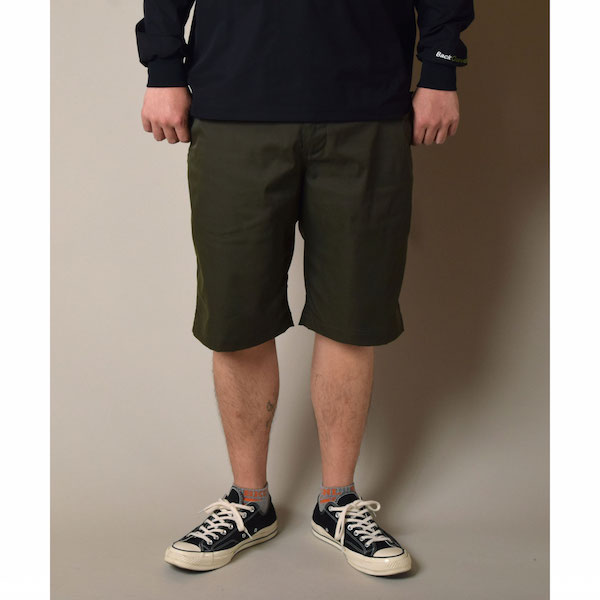Back Channel バックチャンネル STRETCH CHINO SHORTS