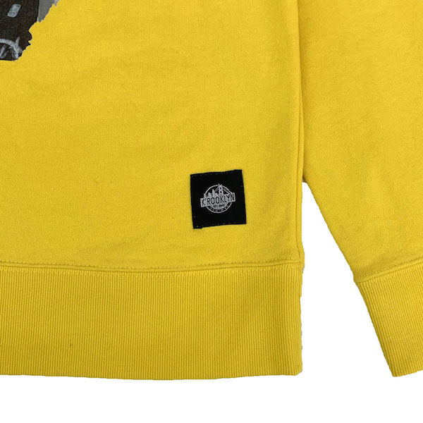 K'rooklyn × SUGI Collaboration Sweat -Yellow-