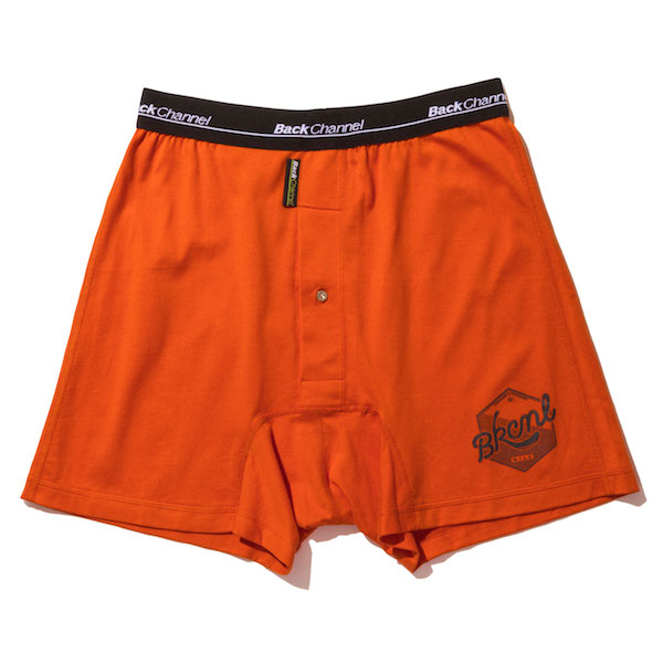 Back Channel バックチャンネル OIL LOGO UNDERWEAR