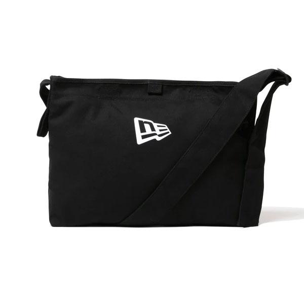 NEW ERA ニューエラ Canvas Shoulder Bag Mini FL Black/White