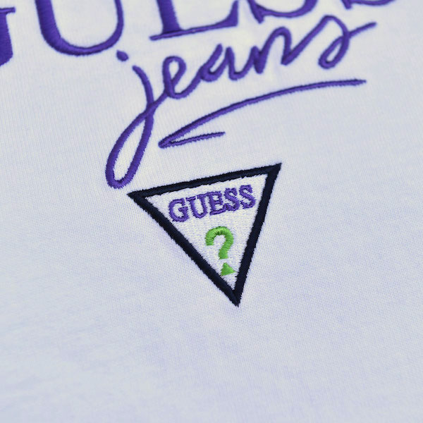 GUESS GREEN LABEL ゲス グリーン レーベル Guess Jeans SS Tee WHATZIS EXCLUSIVE