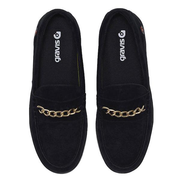 gravis footwear グラビス Odjick Chain Black