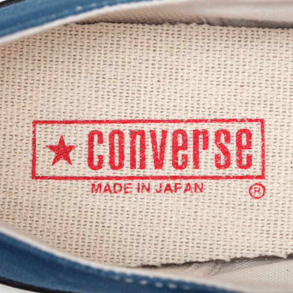 CONVERSE コンバース CANVAS ALL STAR J OX LIGHT NAVY 31303900