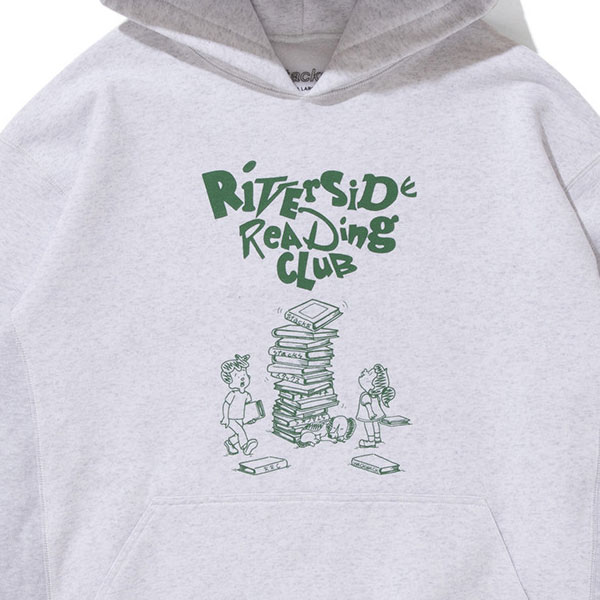 "stacks スタックス ""Riverside Reading Club"" Hoodie"