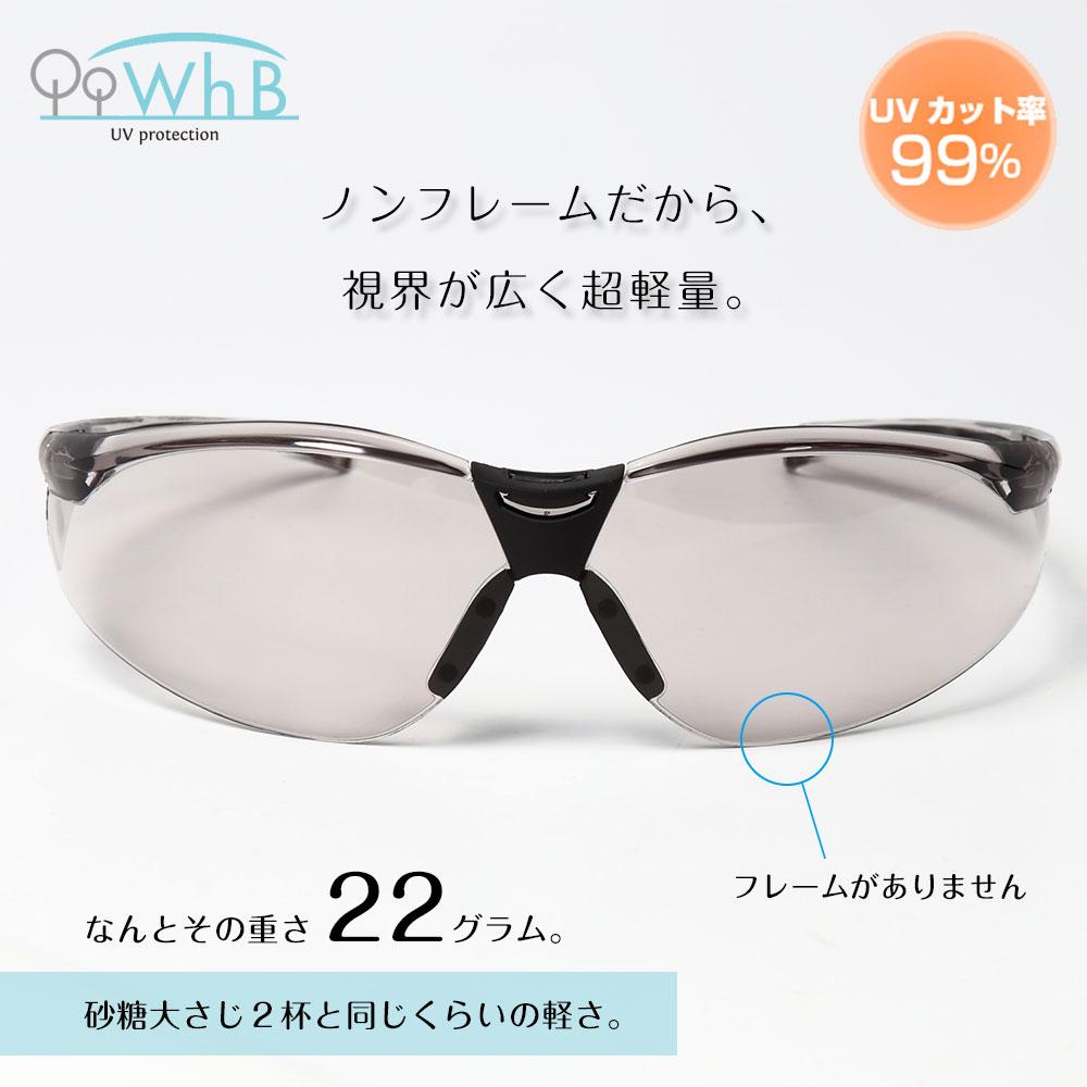 超軽量サングラス【花粉対策・日常タイプ】