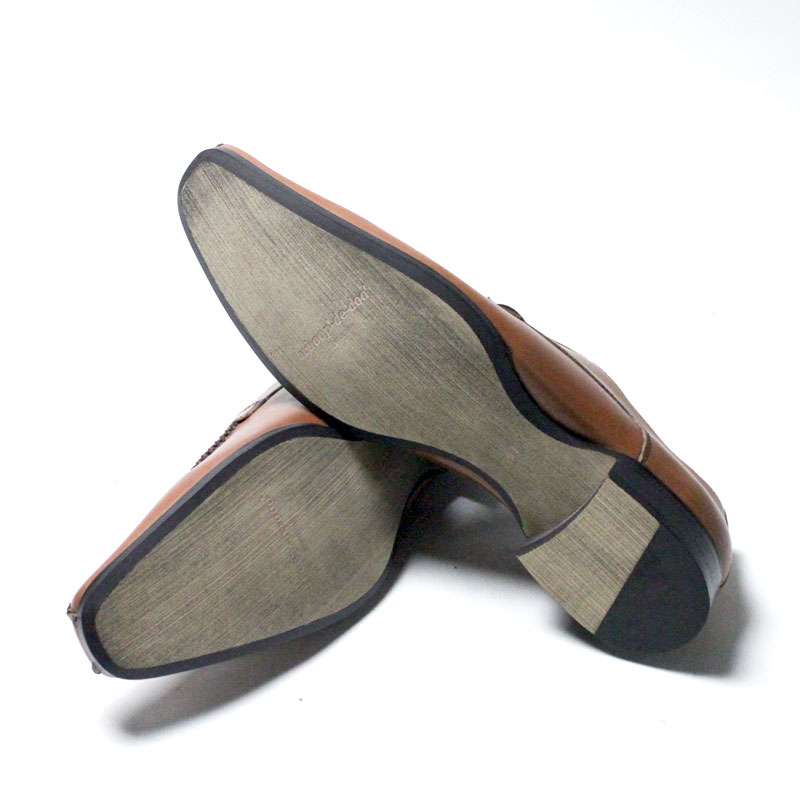 whoop-de-doo Evolution/フープディドゥ 手縫いモカシンレースアップシューズ : 304834