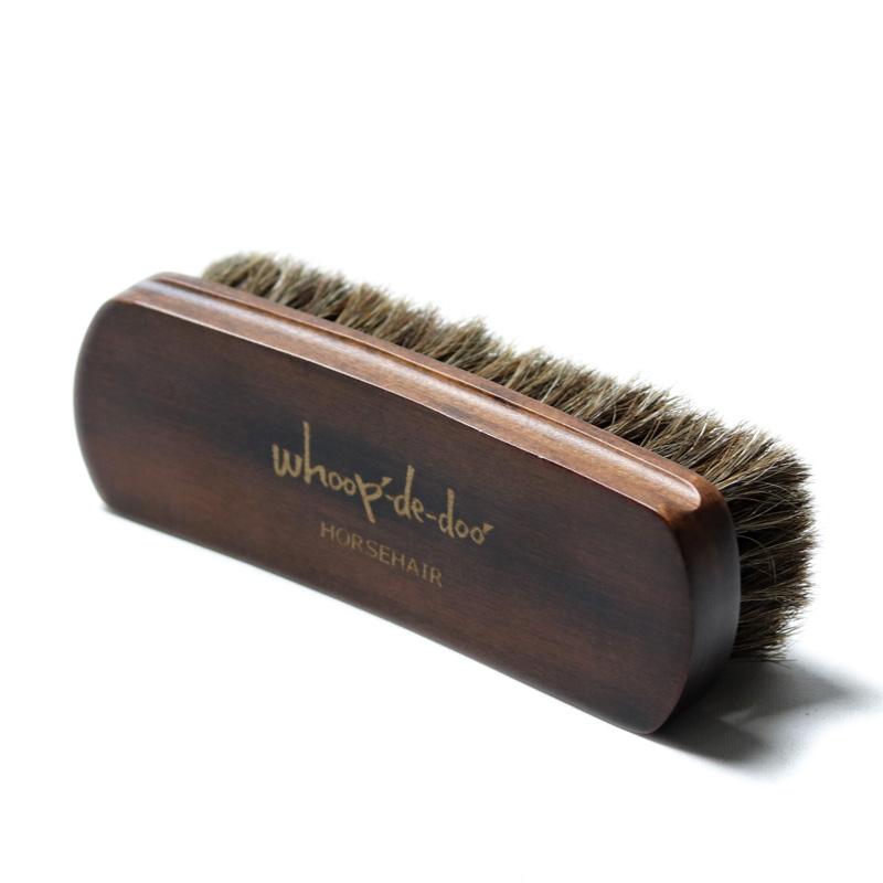 whoop-de-doo/フープディドゥ ホースヘアシューズブラシ【L】 馬毛靴ブラシ : 00000004