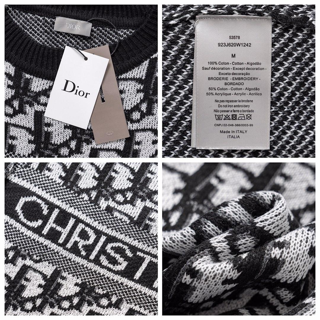 Christian Dior ディオール ロゴ ニット ユニセックス GEKIYASU A-0096