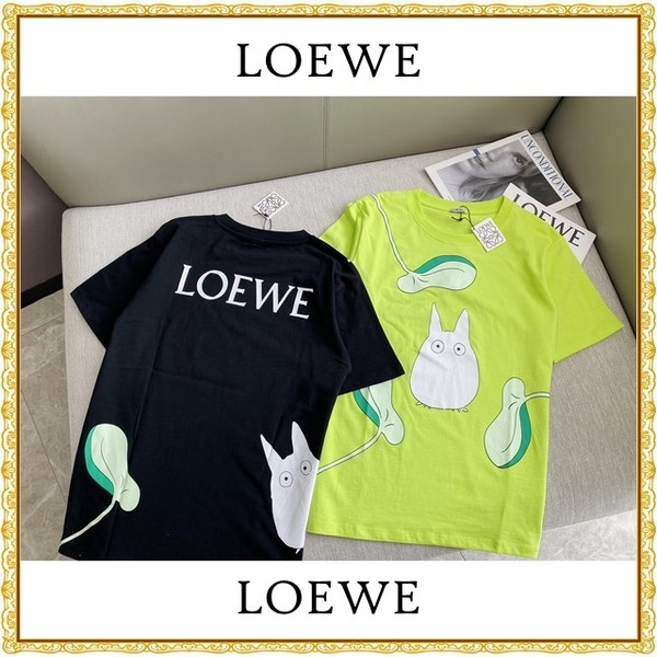 LOEWE ロエベ    トトロ Tシャツ 男女兼用   2カラー サイズ: S~XL  【2021/02/19*80】 商品コード:GEKIYASU L-004352