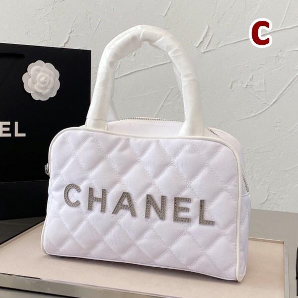 CHANEL シャネル   CC  ロゴボウリングバッグ   3カラー サイズ: 27x17  【2021/02/22*100】 商品コード:GEKIYASU L-004361