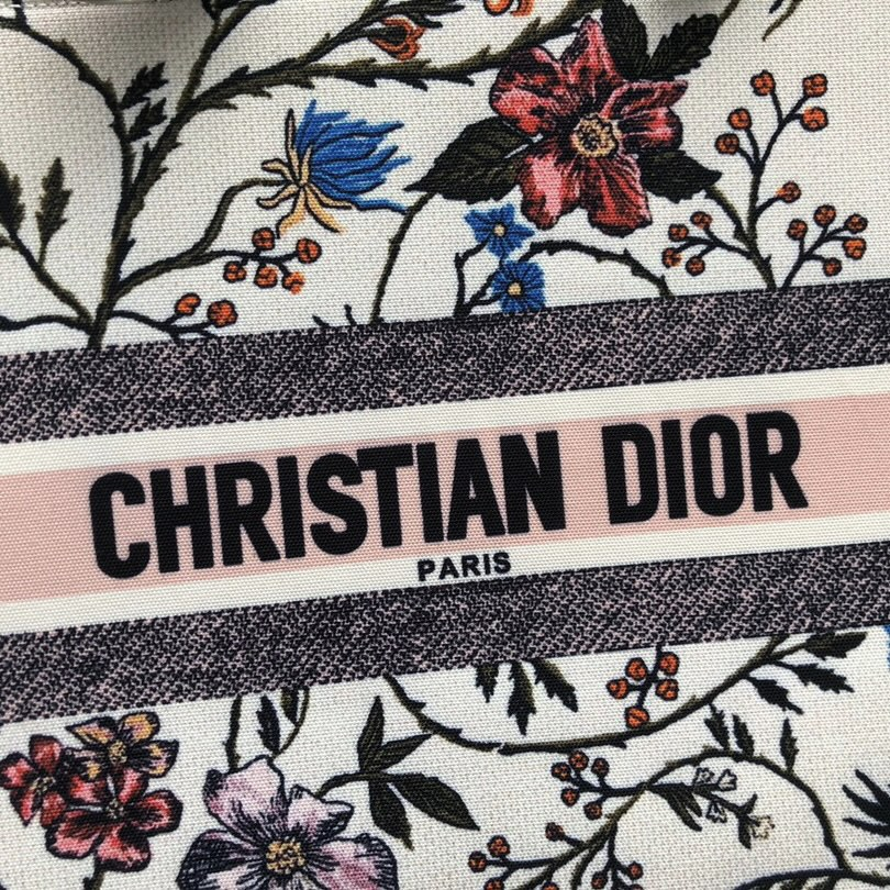 Christian Dior ディオール マルチカラーブックトート スモール 36×28×15 GEKIYASU A-00104