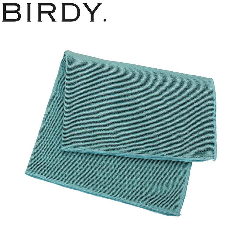 BIRDY キッチンタオル ターコイズブルーM