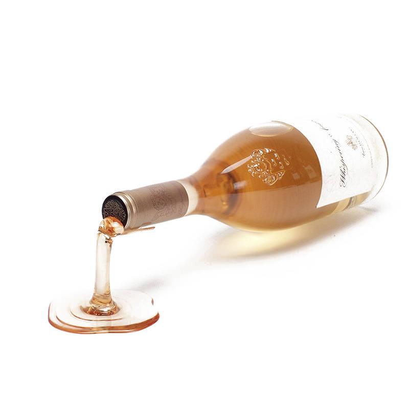 フォールインワイン ボトルホルダー ロゼ