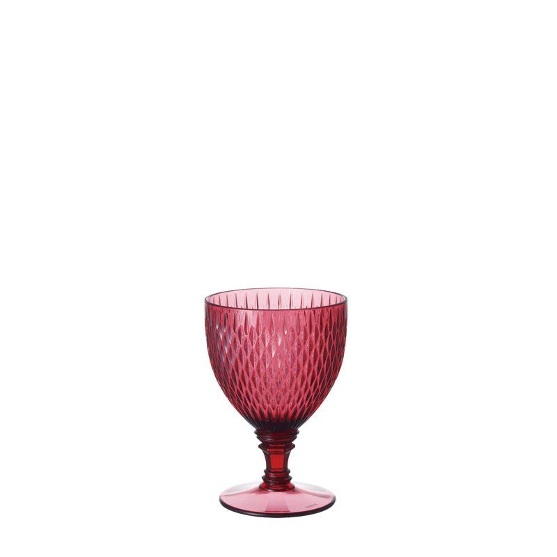 ロゼット ワイングラス レッド