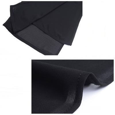 コーラス 合唱用 フレアー ワイドパンツ フォーマル  S M L LL 3Lサイズ 黒