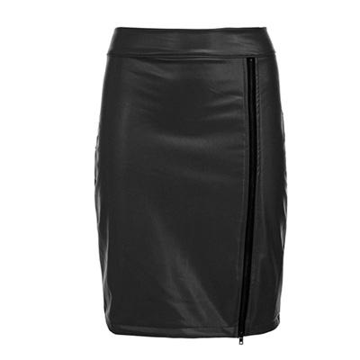 ジャズ ダンス スカート 合成皮革 フェイクレザー ステージ カラオケ レザータイトスカートセクシーフェイクレザータイトスカート ステージや普段のおしゃれにも最適 23148