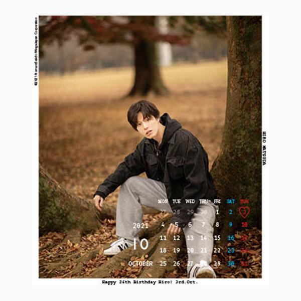 松田裕 BELIEVE2021カレンダー