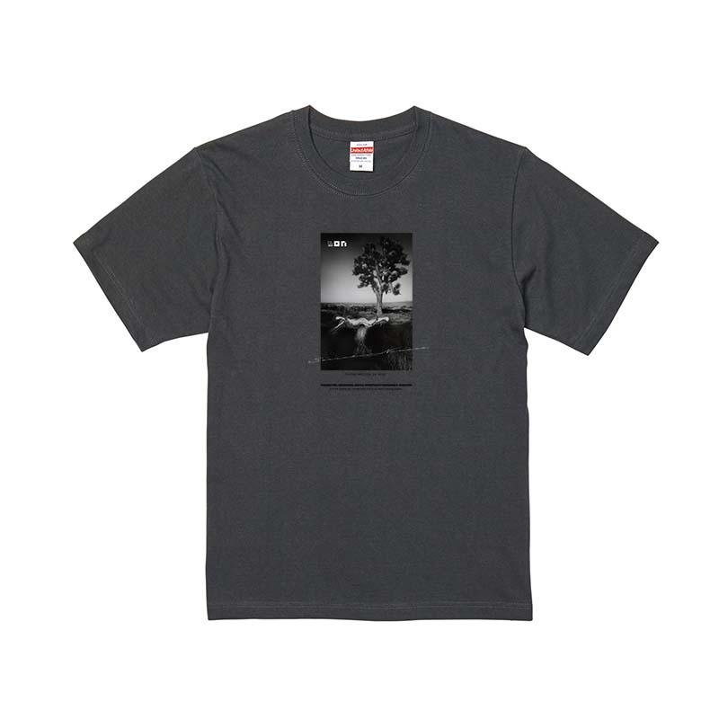 野村誠一 Thankfulness 2021 T-shirt /Sumi