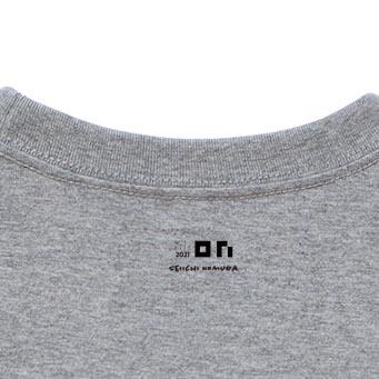 野村誠一 Thankfulness 2021 T-shirt /Mixgray