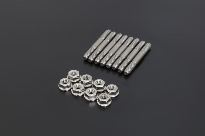 Z/KZ ステンエキゾーストスタッドボルトセット (外径:6mm)【在庫数10以上】