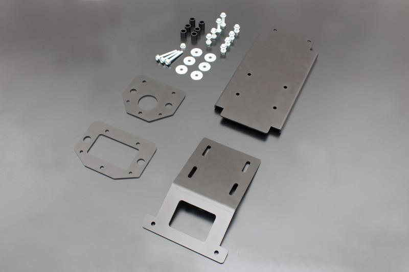 Z750FX-1,Z1000MK2,Z1R-1/2 フェンダーレスキット ブラックアルマイト【在庫数5〜9】