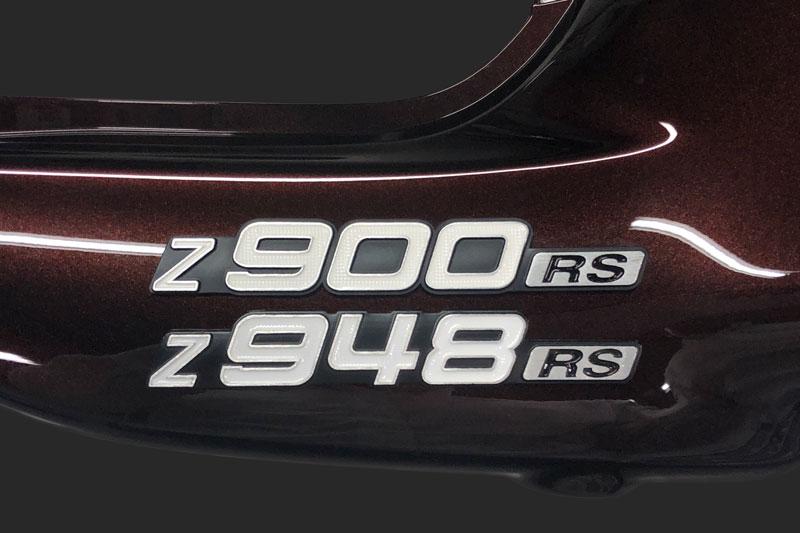 ARCHI Z948RS サイドカバーエンブレム