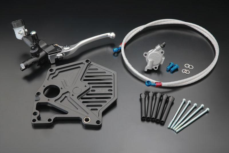 BILLET フルカバータイプ 油圧クラッチキット (ブラック)【在庫数1〜4】
