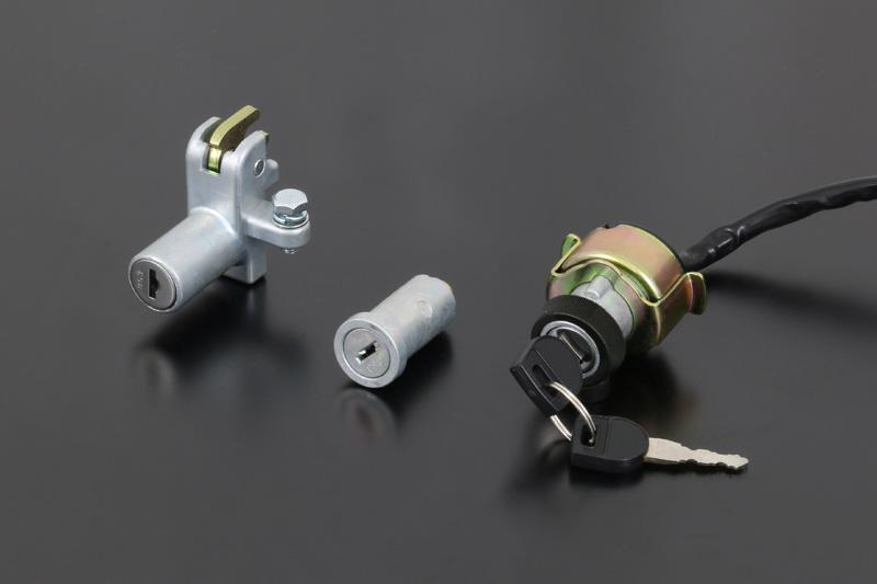 Z750A4/A5,KZ900 メインスイッチ&ロックセット【在庫数10以上】