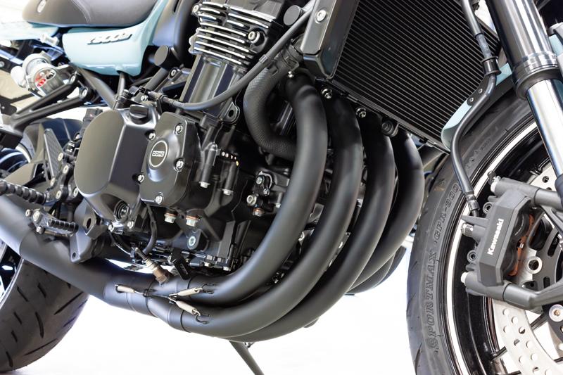 【12月下旬発売予定】 ARCHI 427 ショート管マフラー 黒 Z900RS(JMCA認証)