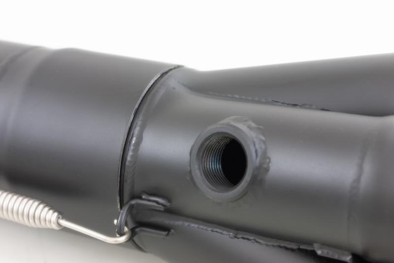 427 ショート管マフラー 黒  ◎JMCA認証:車検対応仕様