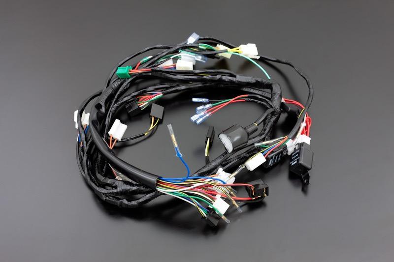 ZEPHYR750 C1~C3 メインハーネス(ヘッドランプブースター付き)