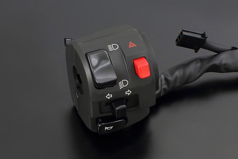 ZXタイプハンドルスイッチ左側・KAWASAKI【GPZ900R(A8- 国内仕様(常時点灯式のみ)/A11- マレーシア仕様(常時点灯式のみ))】