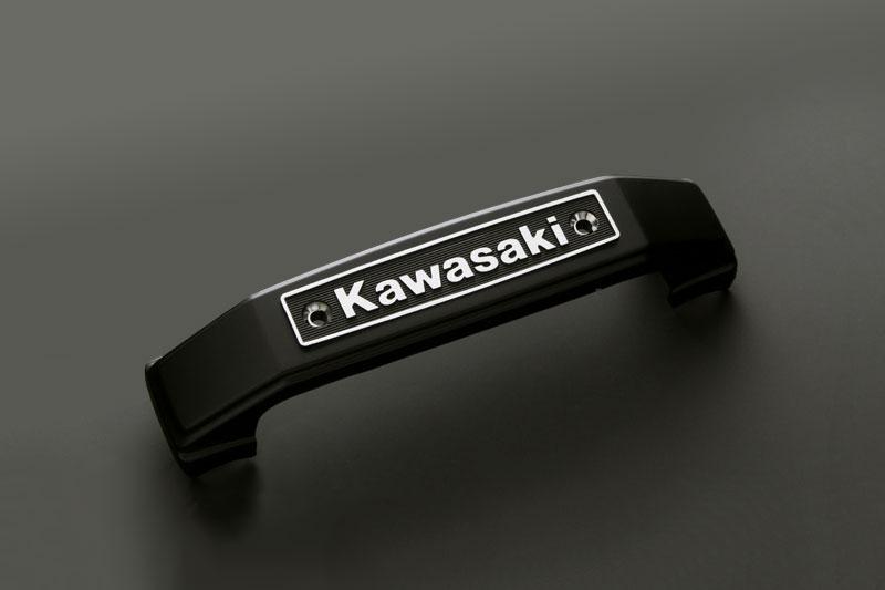 KAWASAKIタイプ ステムエンブレム <ブラック>【在庫数10以上】