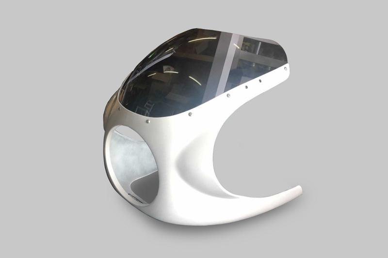 【受注後1ヶ月予定】 ギルズカウル Z900RS CAFE 白ゲル(塗装ベース)