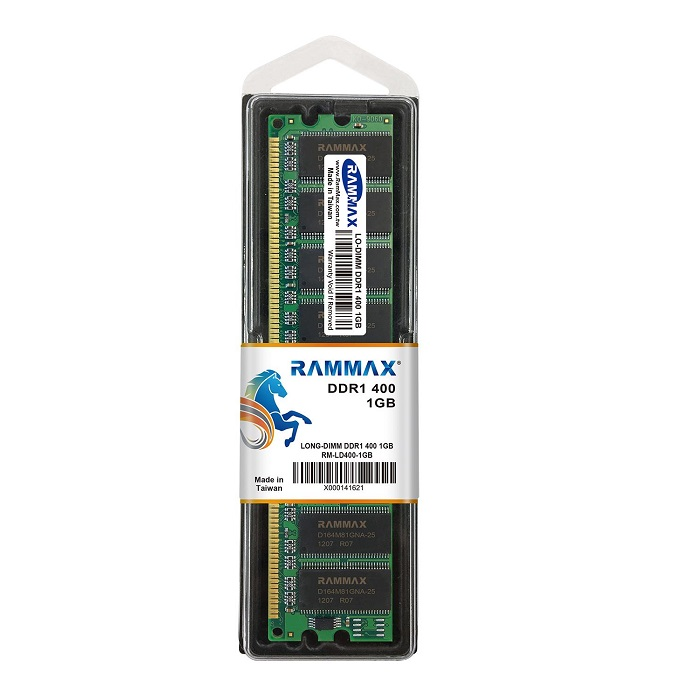 3808 RAMMAX RM-LD400-1GB DDR400 (PC-3200) 1GB