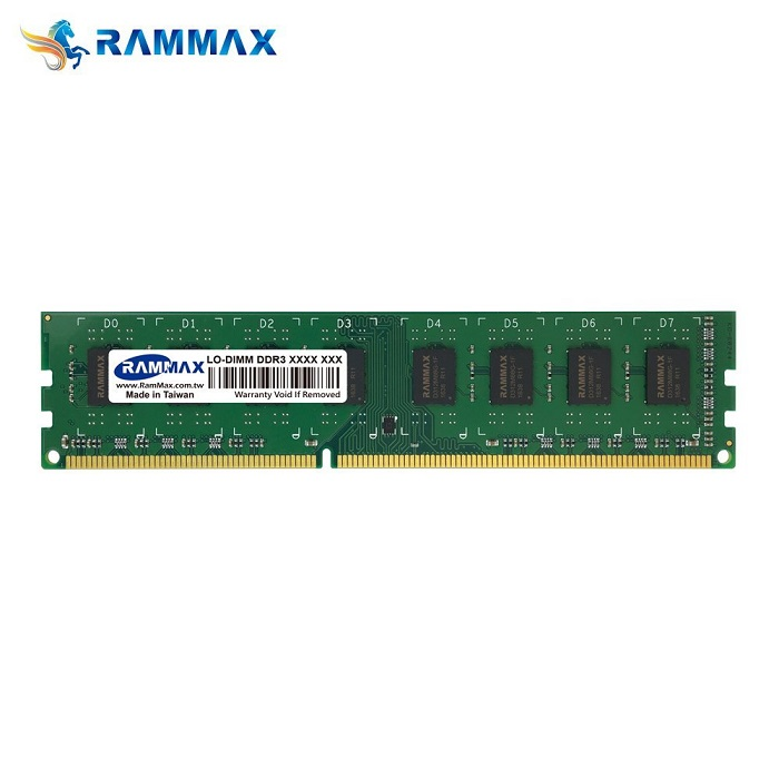 3812 RAMMAX RM-LD1066-2GB DDR1066 (PC3-8500) 2GB