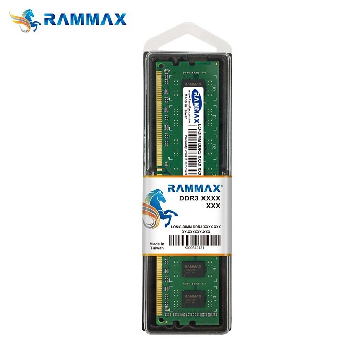 3818 RAMMAX RM-LD1600-4GB DDR1600 (PC-12800) 4GB
