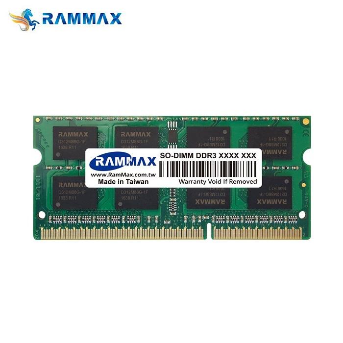 5041 RAMMAX RM-SD1600-D4GB (2GB 2枚組) DDR3 1600 (PC3-12800/PC3L-12800) 4GB Dual 低電圧 1.35V/1.5V両対応