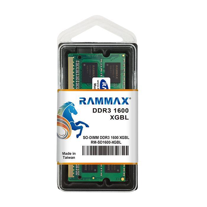 5123 RAMMAX RM-SD1600-4GBL DDR3L-1600 (PC3L-12800) 4GB 1.35V/1.5V両対応