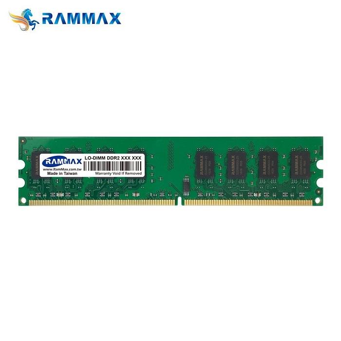 2988 RAMMAX RM-LD667-D4GB (2GB 2枚組) DDR2 667 (PC-5300) 4GB Dual